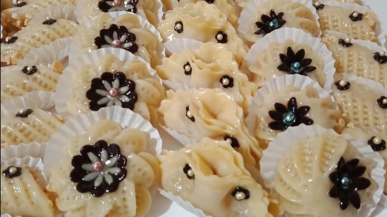 حلويات اللوز بدون لوز أو مرشم ستندهشين من النتيجة Youtube Vegetables Food Garlic