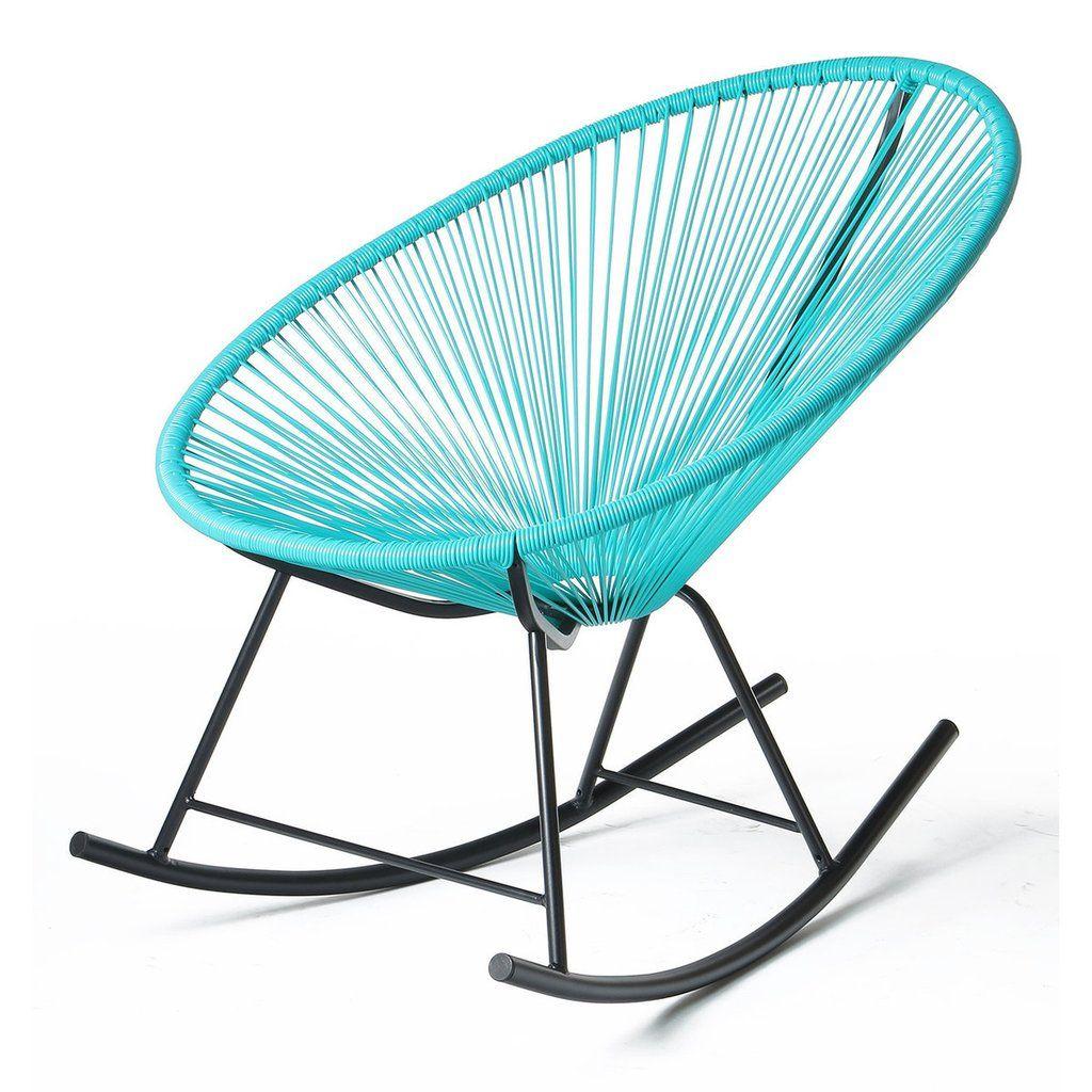 Superieur Acapulco Rocking Chair   Blue
