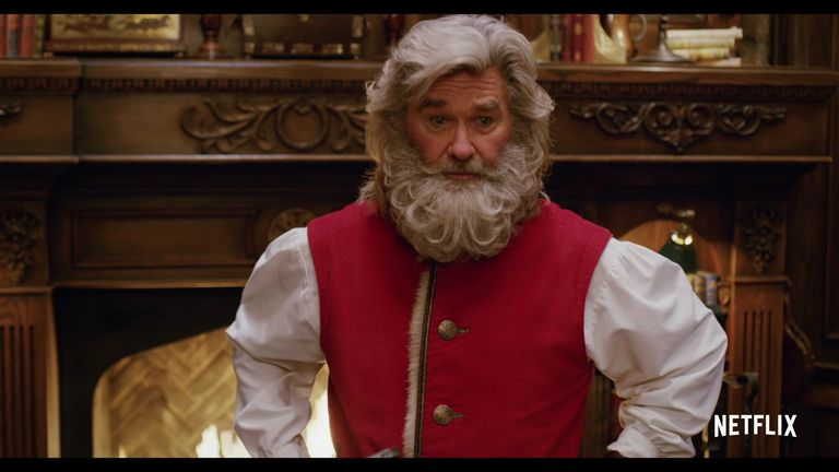 Kurt Russell is Santa in new Netflix Christmas movie (с