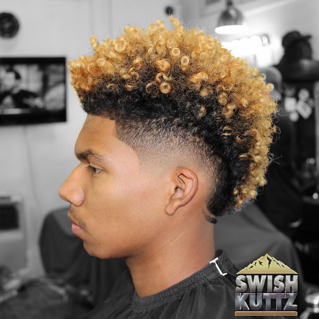 Swishkuttz With Images Boys With Curly Hair Dyed Hair Men
