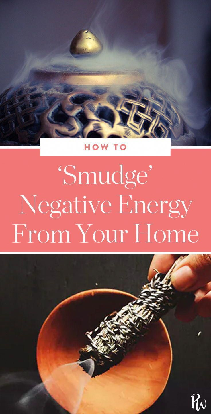 How to 'Smudge' Negative Energy From Your Home (Just Like