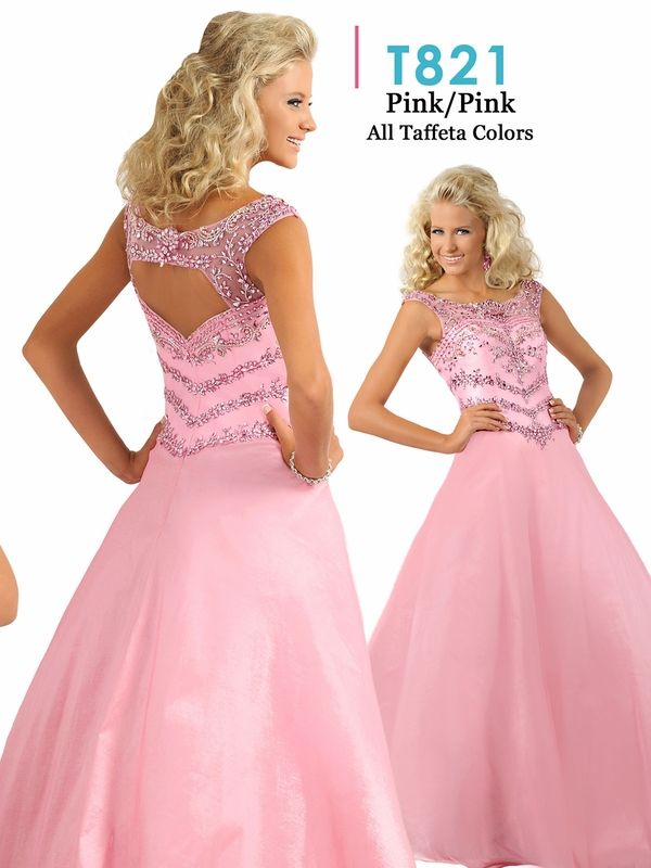 f6793f1d5 Ritzee Tweens Teen T821 Taffeta Ball Gown Dress