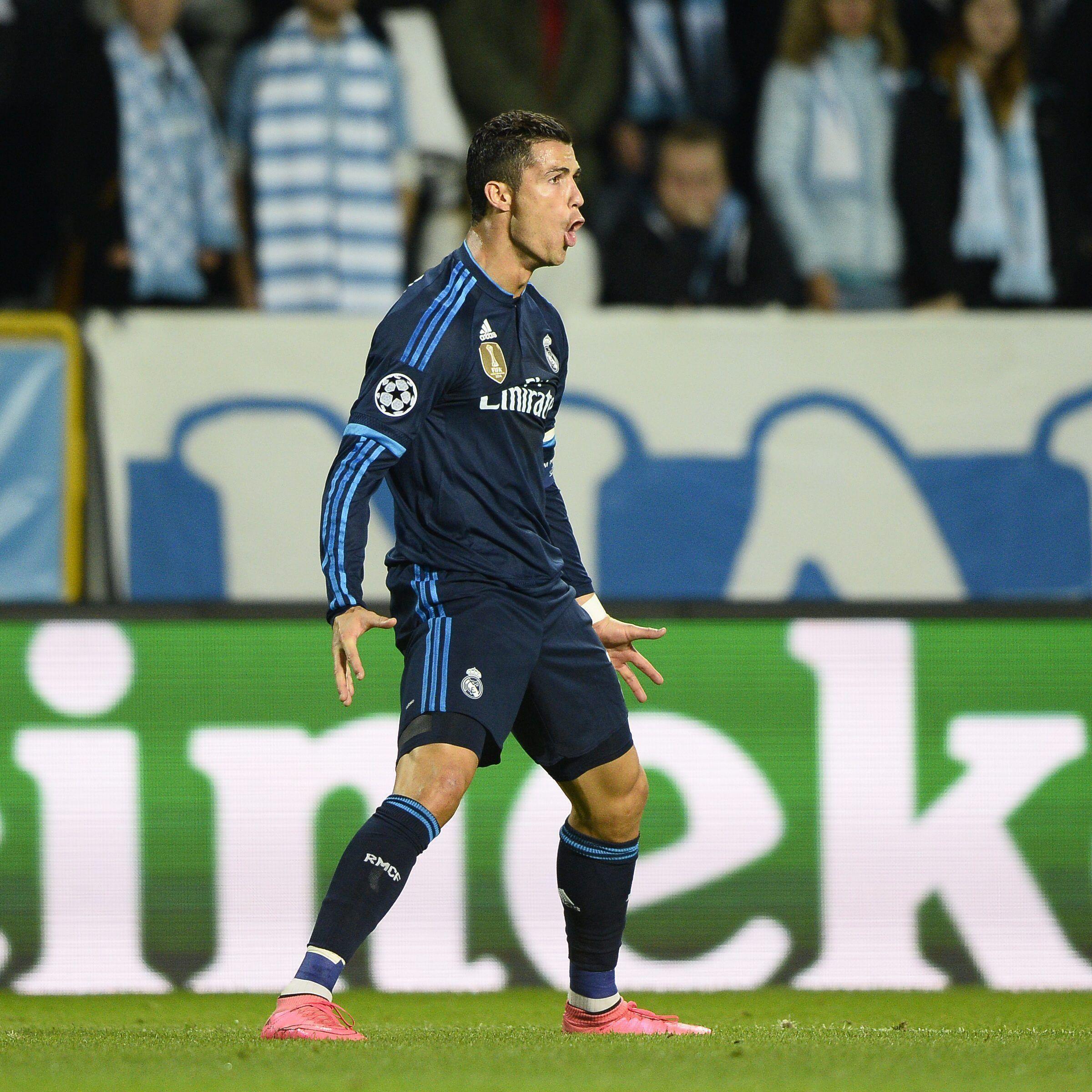 CR501: Cristiano Ronaldo atinge marcas históricas, e Real vence Malmö #globoesporte