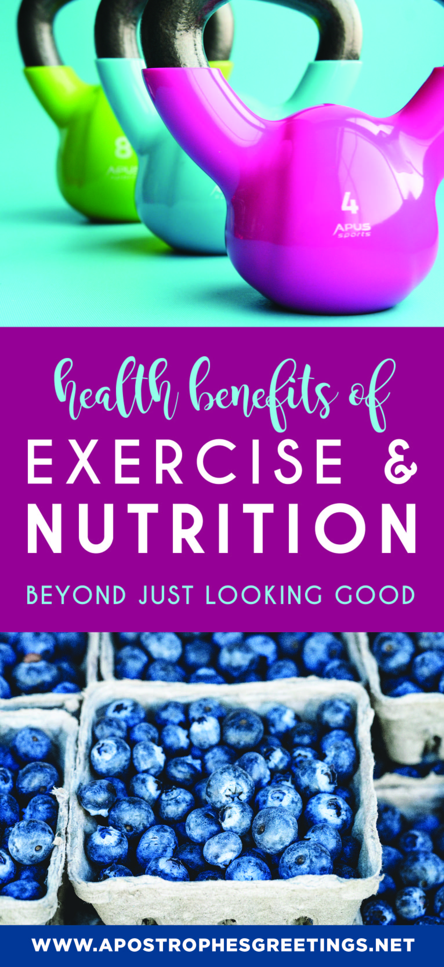 Health Benefits of Exercise and Nutrition beyond just looking good