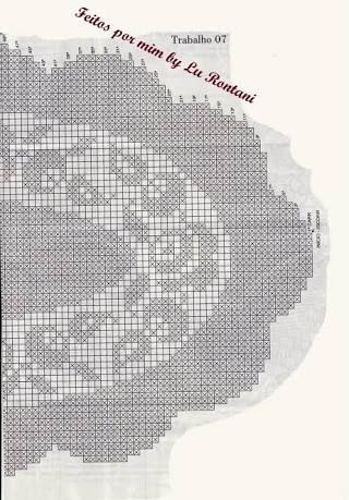 Resultado de imagen para gráficos de tapetes grandes de crochê