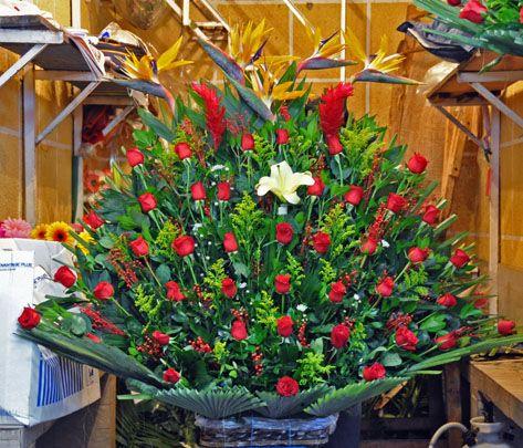 Mercado De Jamaica Mexican Grocery Store Flower