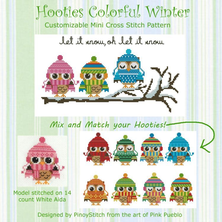 Hooties Colorful Winter Collection - Click Image to Close