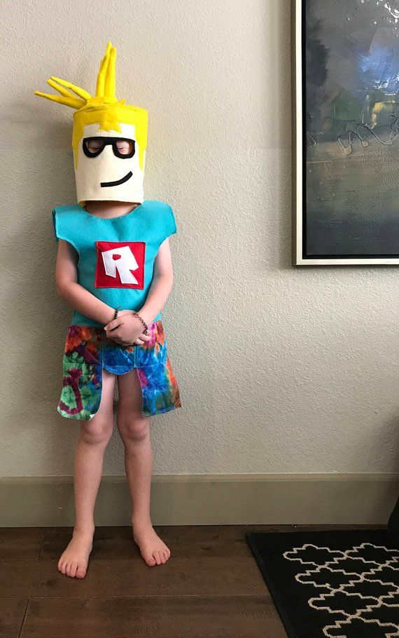 6982f784a1dd Roblox BODY costume for kids ages 4+ CUSTOM made to order