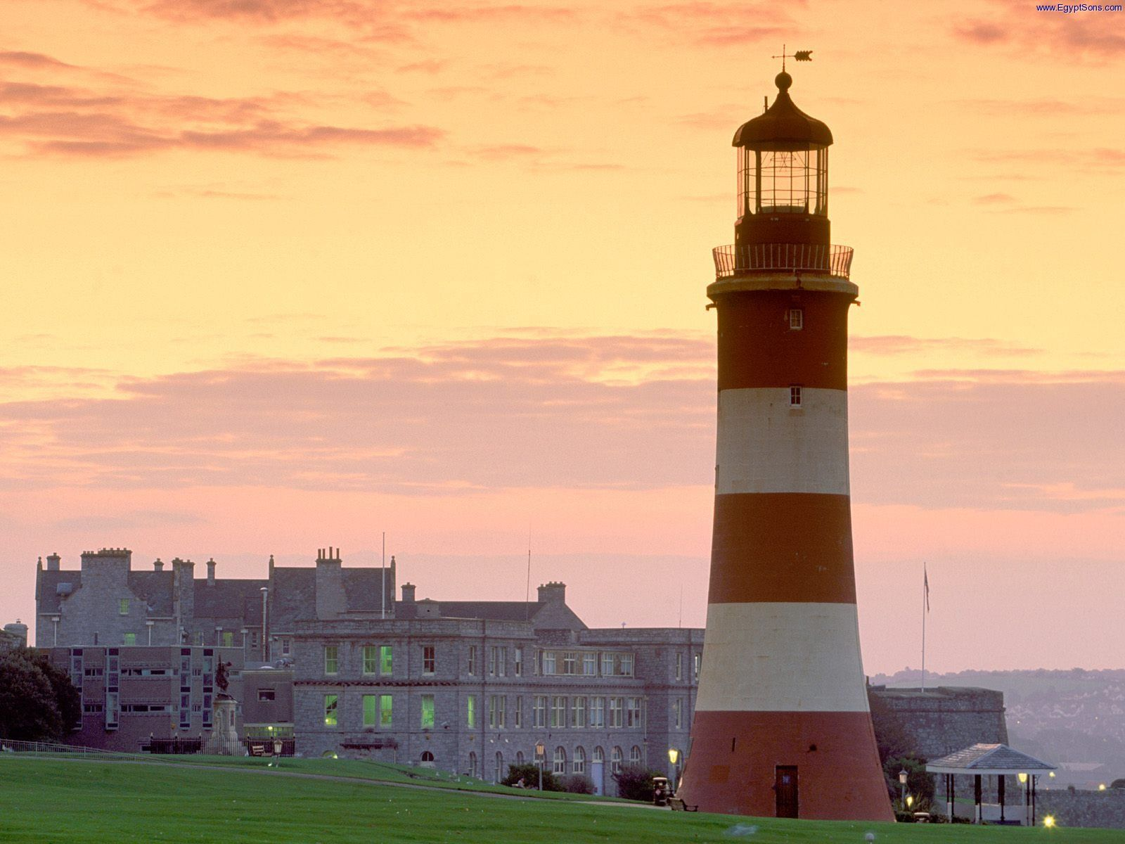 Lighthouse of Plymouth, England