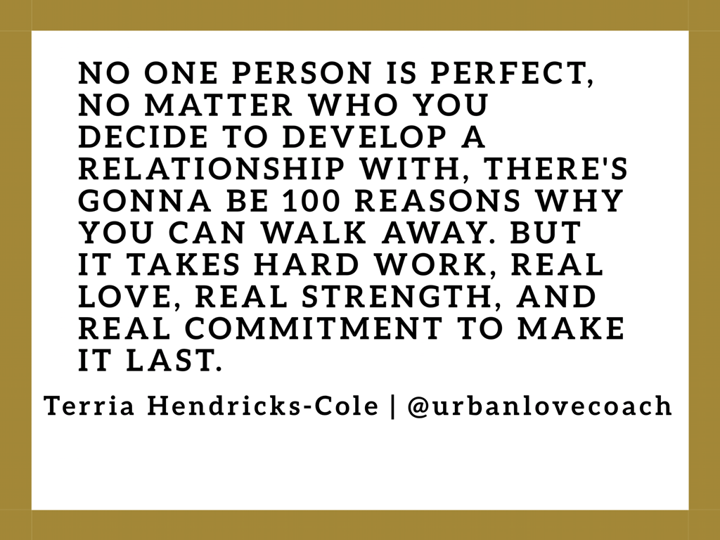 Marriage is two imperfect people spending their life