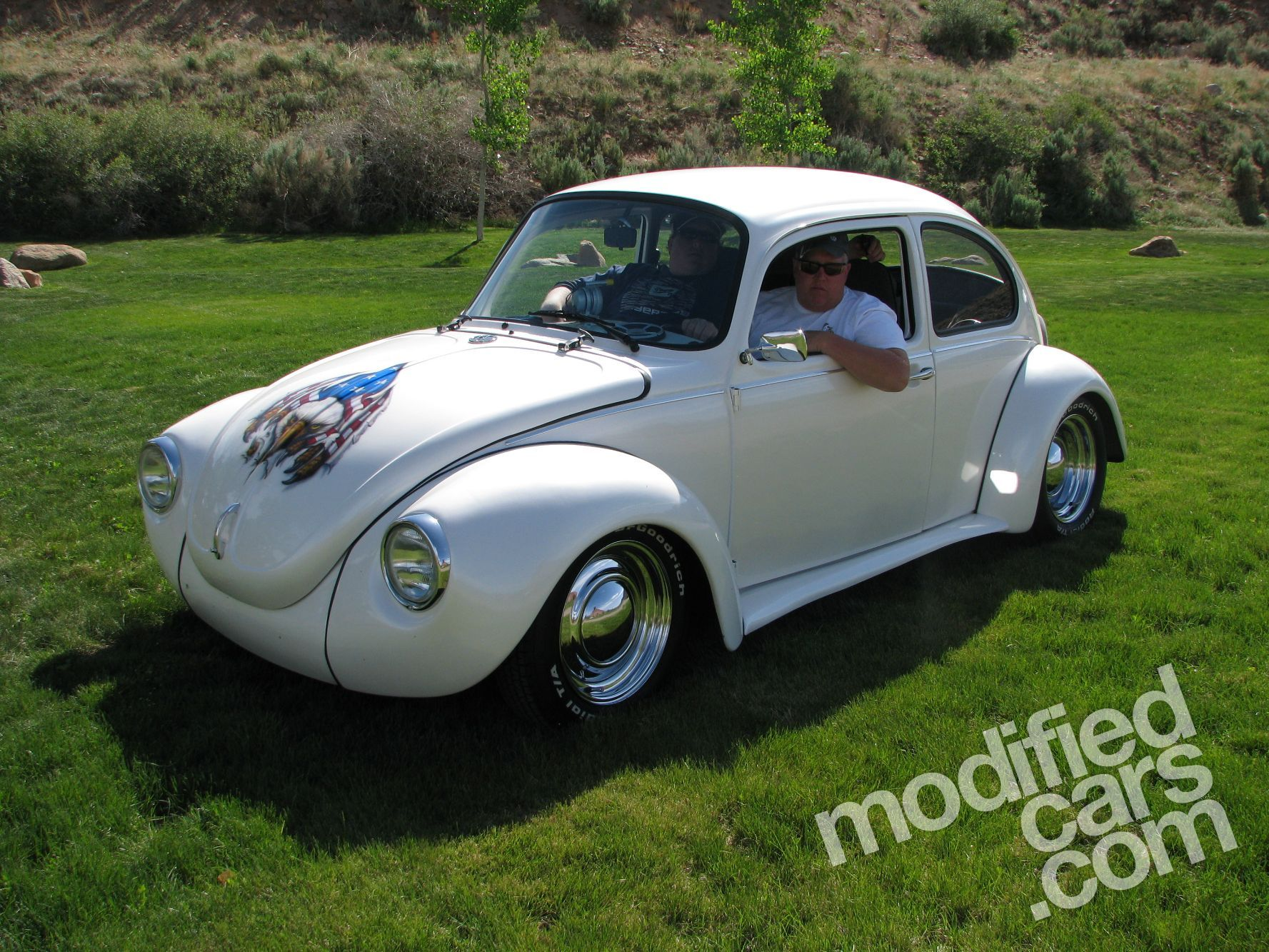 vw bug custom fenders vw beetle customized get around. Black Bedroom Furniture Sets. Home Design Ideas