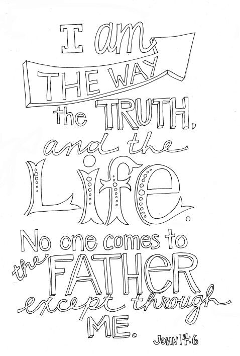 I Am The Way The Truth And The Life No One Comes To The Father