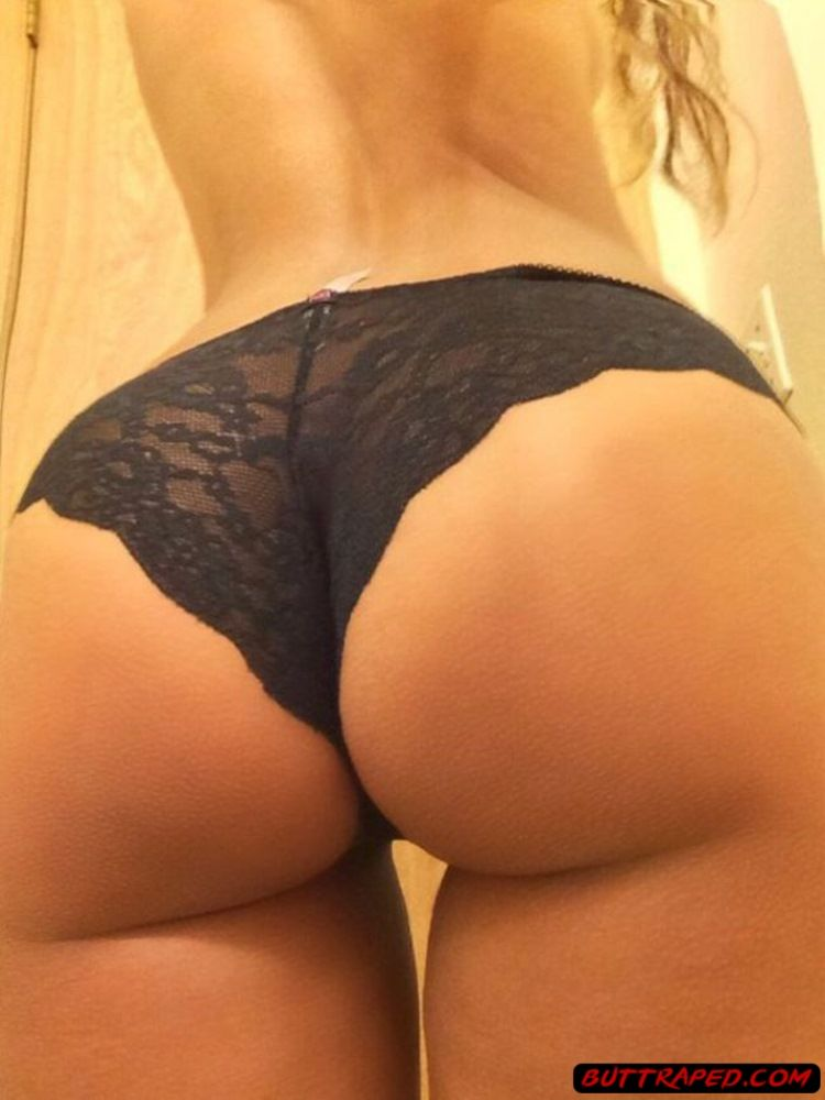g Girl string selfie ass