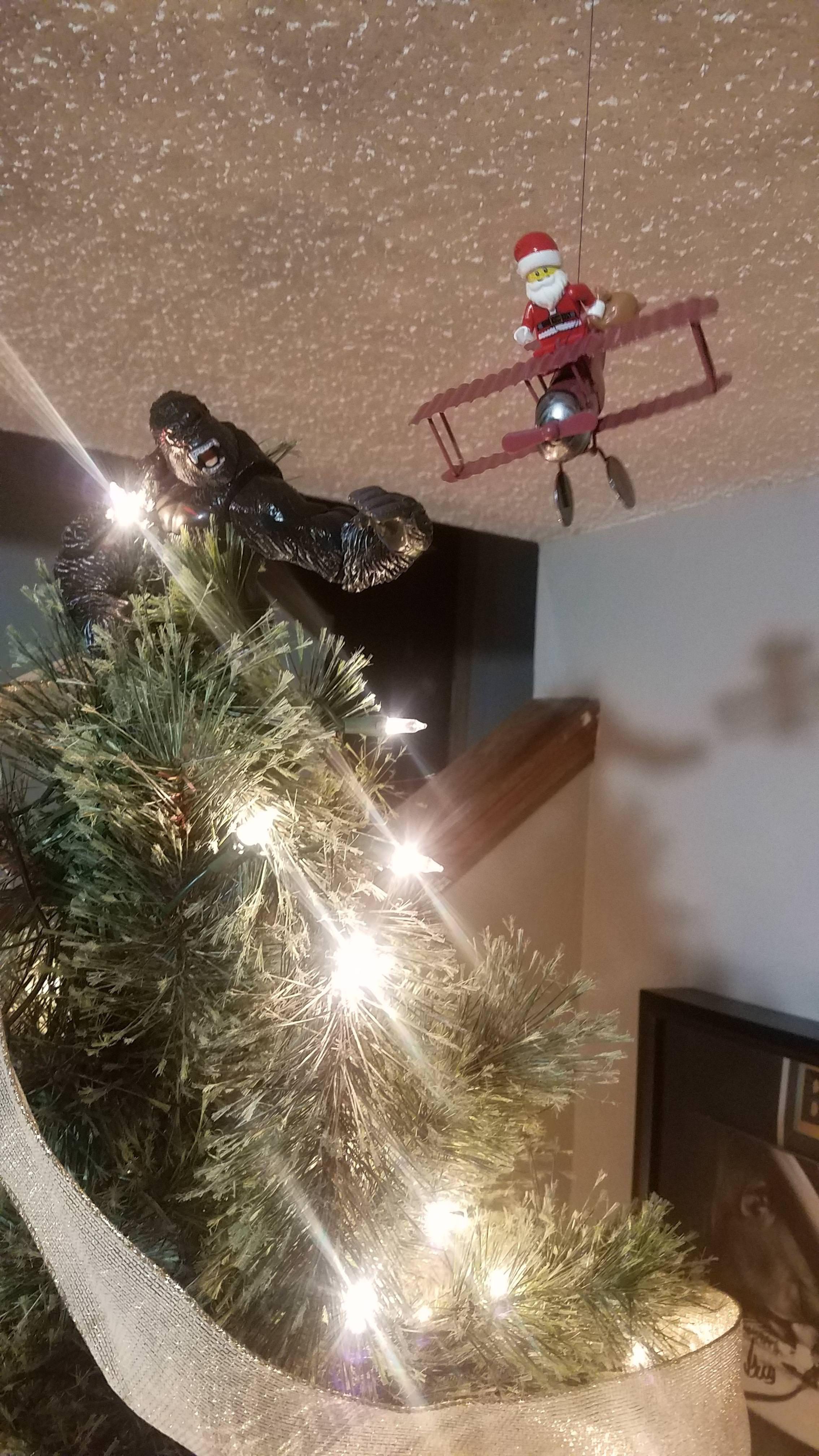 King Kong Christmas Tree Topper Christmas Tree Toppers Tree Toppers Christmas Tree