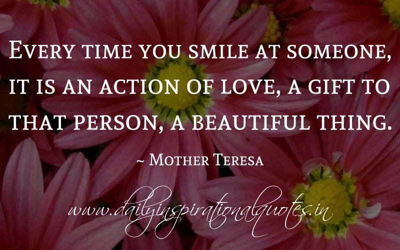 Mother Teresa On Kindness Quotes Quotesgram Quotes Quotes
