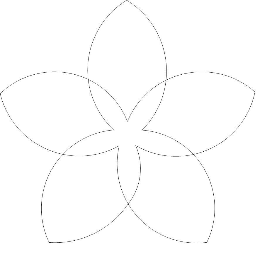 Flower Outline Childcare Pinterest Simple Flowers Flower