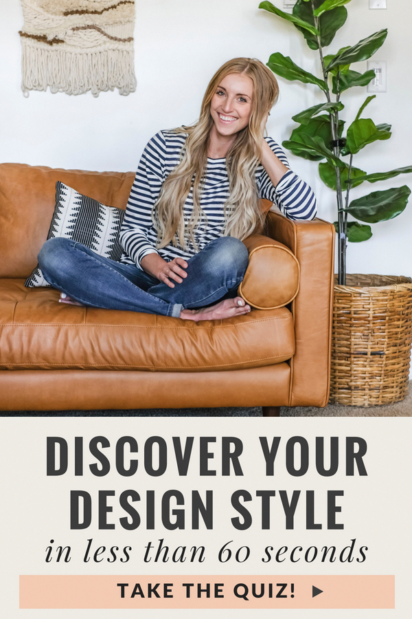 Find out which design style suits you best! This 10 question quiz delivers shockinly accurate results! Curious what your decorating personality is? Take the What's Your Design Style Quiz and find out! #joyfullygrowingblog #designstyle #decorstyle #fashionstyletypesdifferent