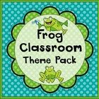 Frog Classroom Set-Up Theme Pack #preschoolclassroomsetup