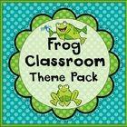 Frog Classroom Set-Up Theme Pack #preschoolclassroomsetup