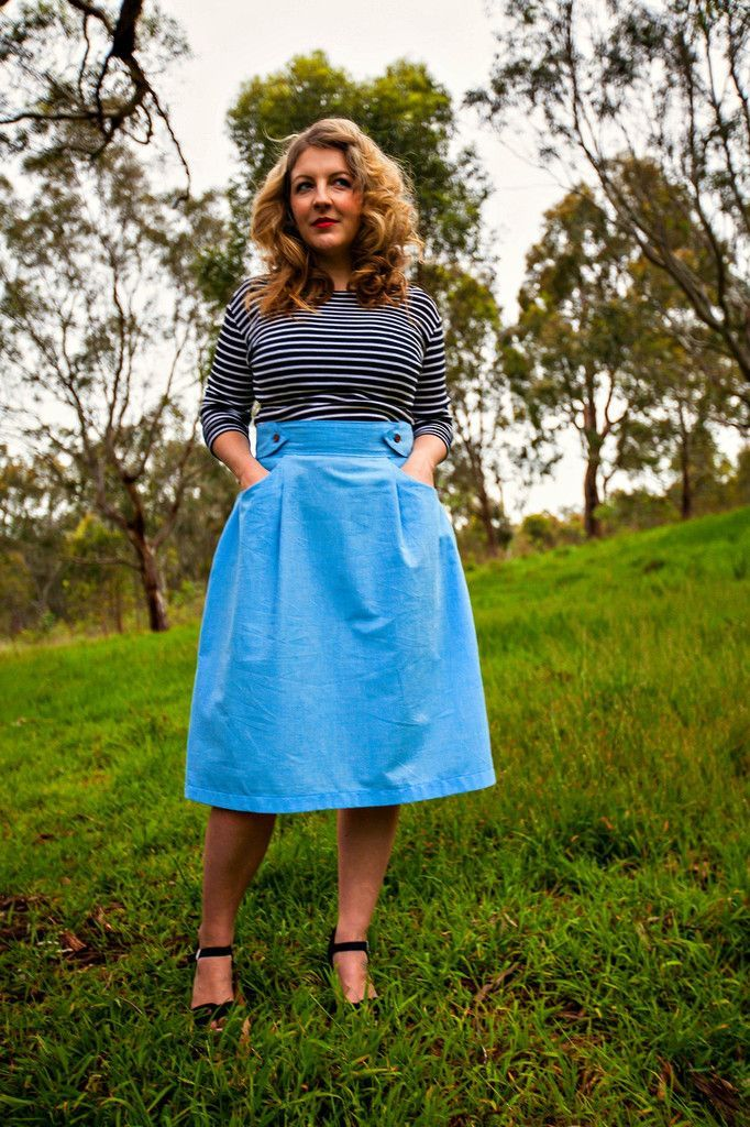 Peggy Skirt – Bluegingerdoll - Vintage Inspired Sewing Patterns ...