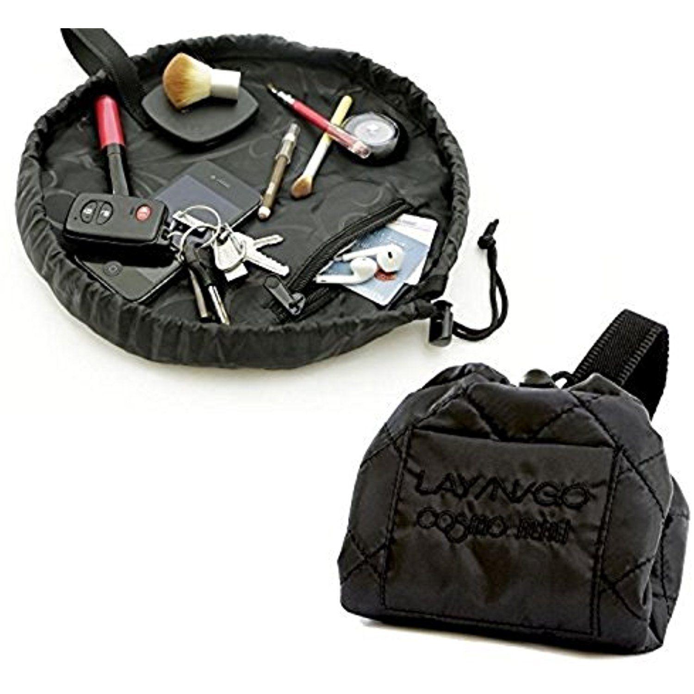 LaynGo Cosmo Cosmetic Bag 20'' Black Travel Organizer