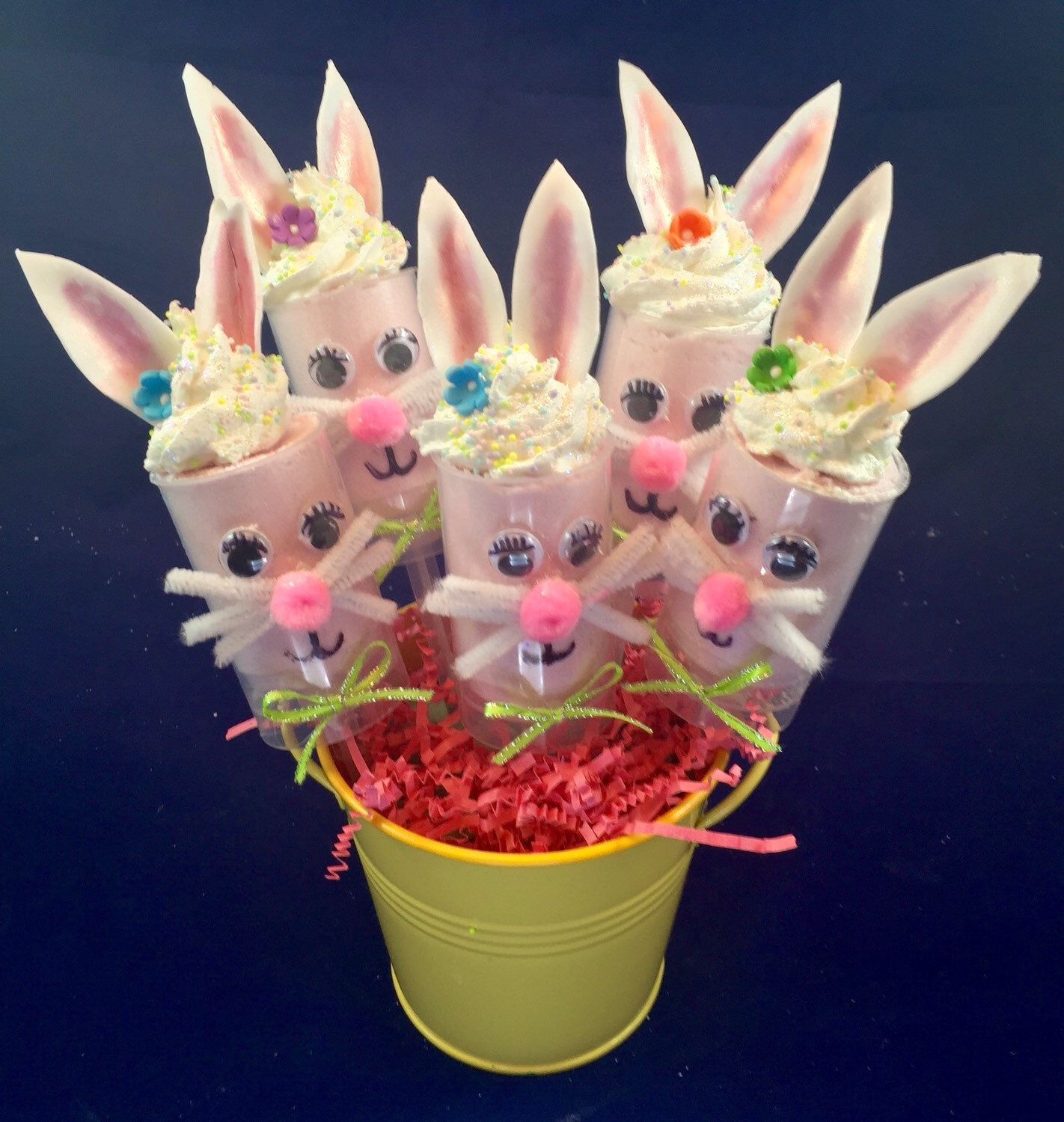 A personal favorite from my Etsy shop https://www.etsy.com/listing/270056570/easter-bunny-bath-bomb-push-pop