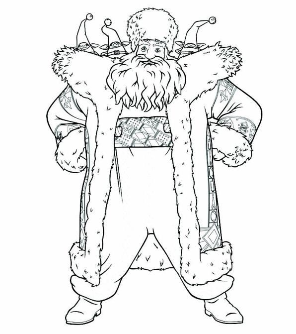 Coloring Page Rise Of The Guardians