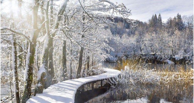 Np Plitvicka Jezera Jednodnevno Putovanje Outdoor Winter Photography Paths