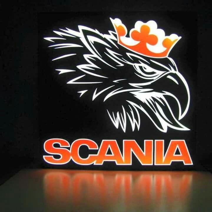 Scania V8 Logo Wallpapers Wallpapersafari Camiones
