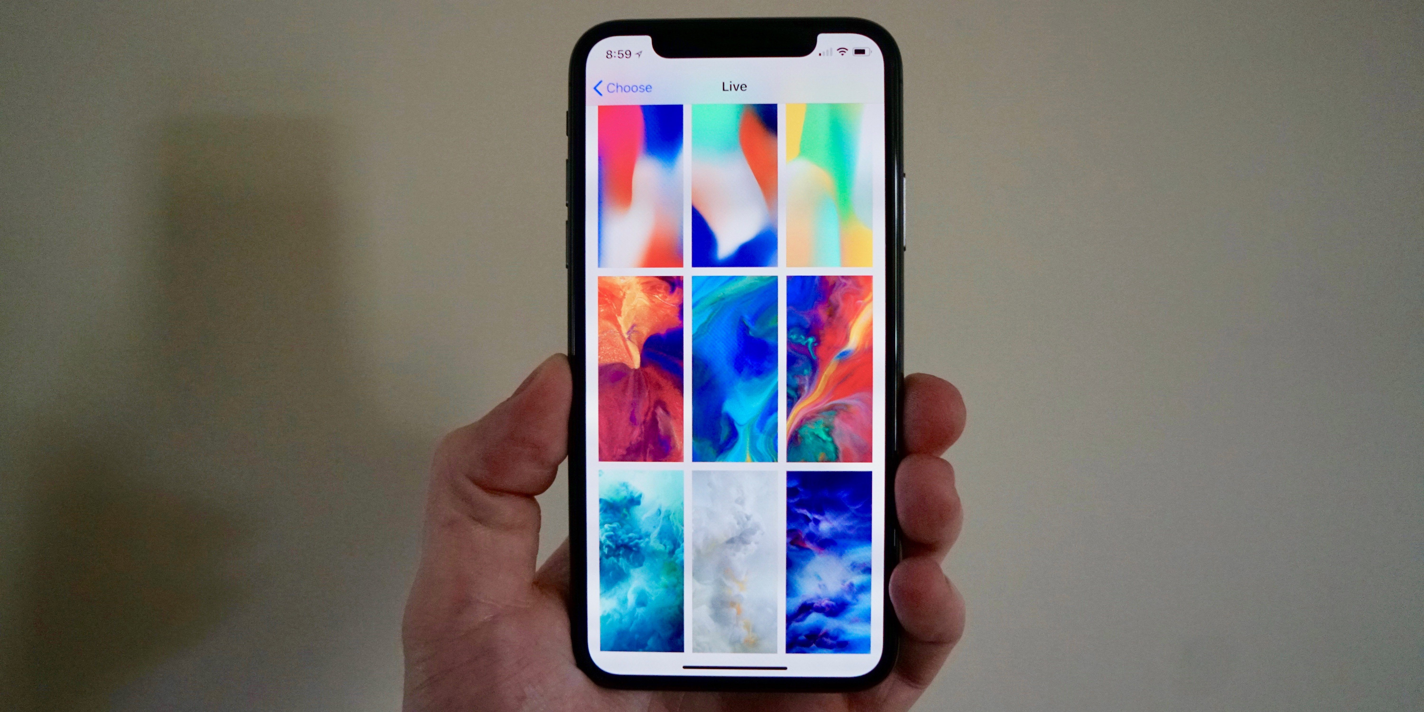 Iphone X Features 7 New Dynamic And 6 New Live Wallpapers Gallery