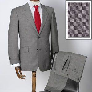 grey tuxedos with red ties for the groom and groomsmen