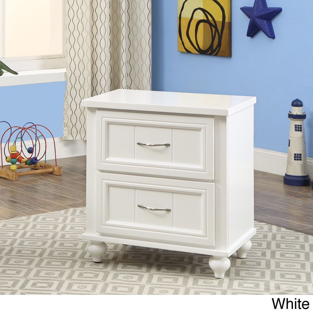 Furniture of america alicia cottage style drawer youth nightstand