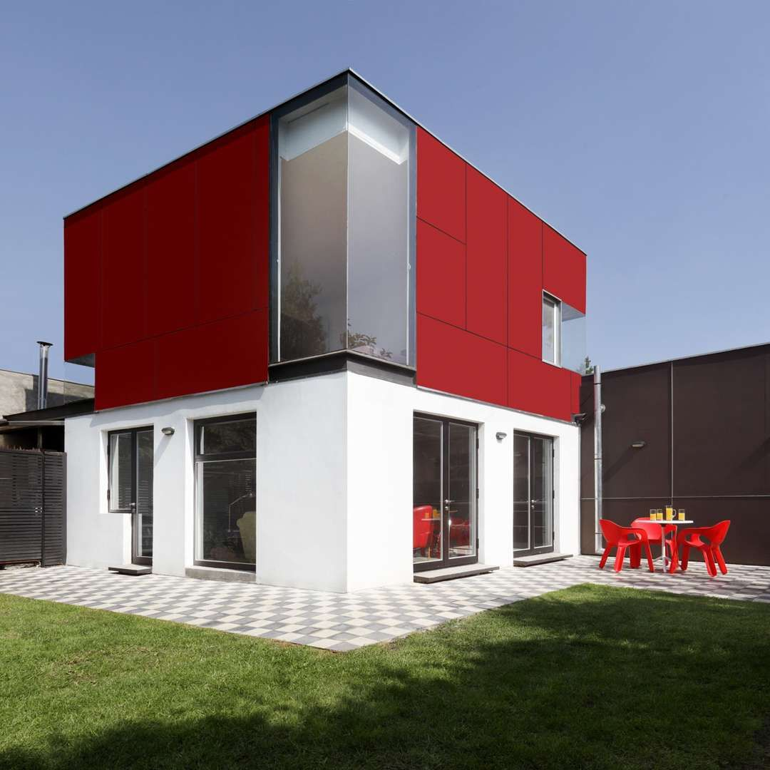 The cube is one of the most pure and minimal forms that a building ...