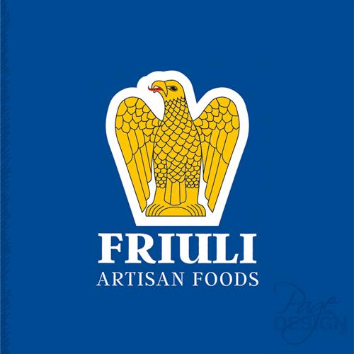 Logo for Friuli Artisan Foods,Australia, inspired by the Friuli Giulia Venezia region in Italy.
