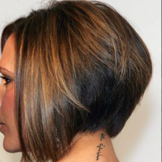 veiled stack bob with images  wedge haircut inverted