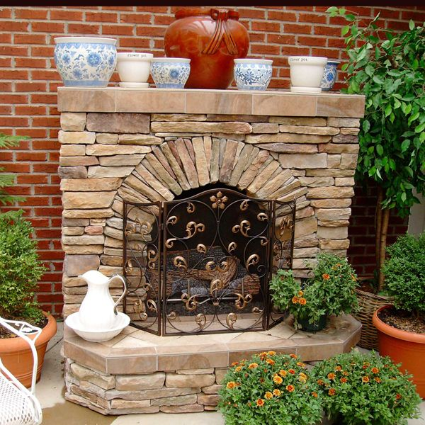 Soma Fireplace Project Diy outdoor fireplace, Wood burning and