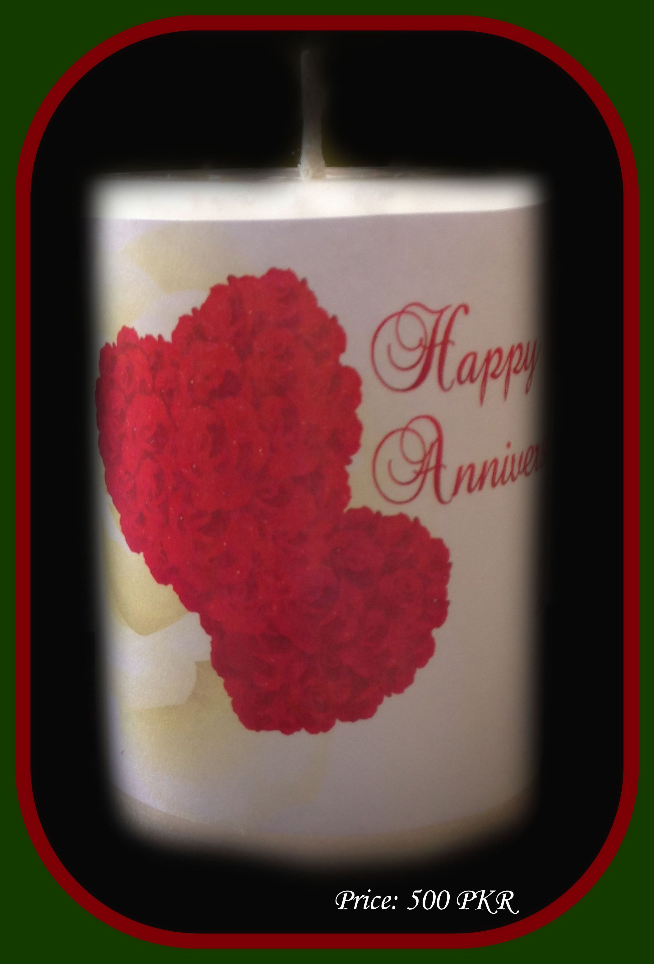 Wedding anniversary decoration ideas at home  Candilicious We provide customised and personalised candles for