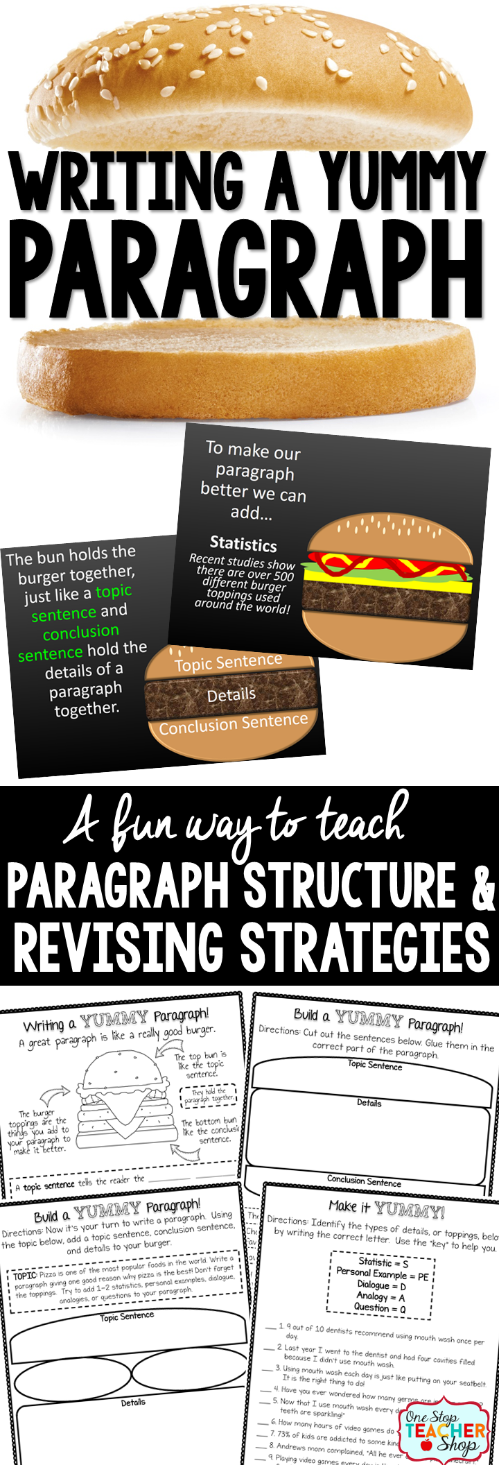 how to make a paragraph easily
