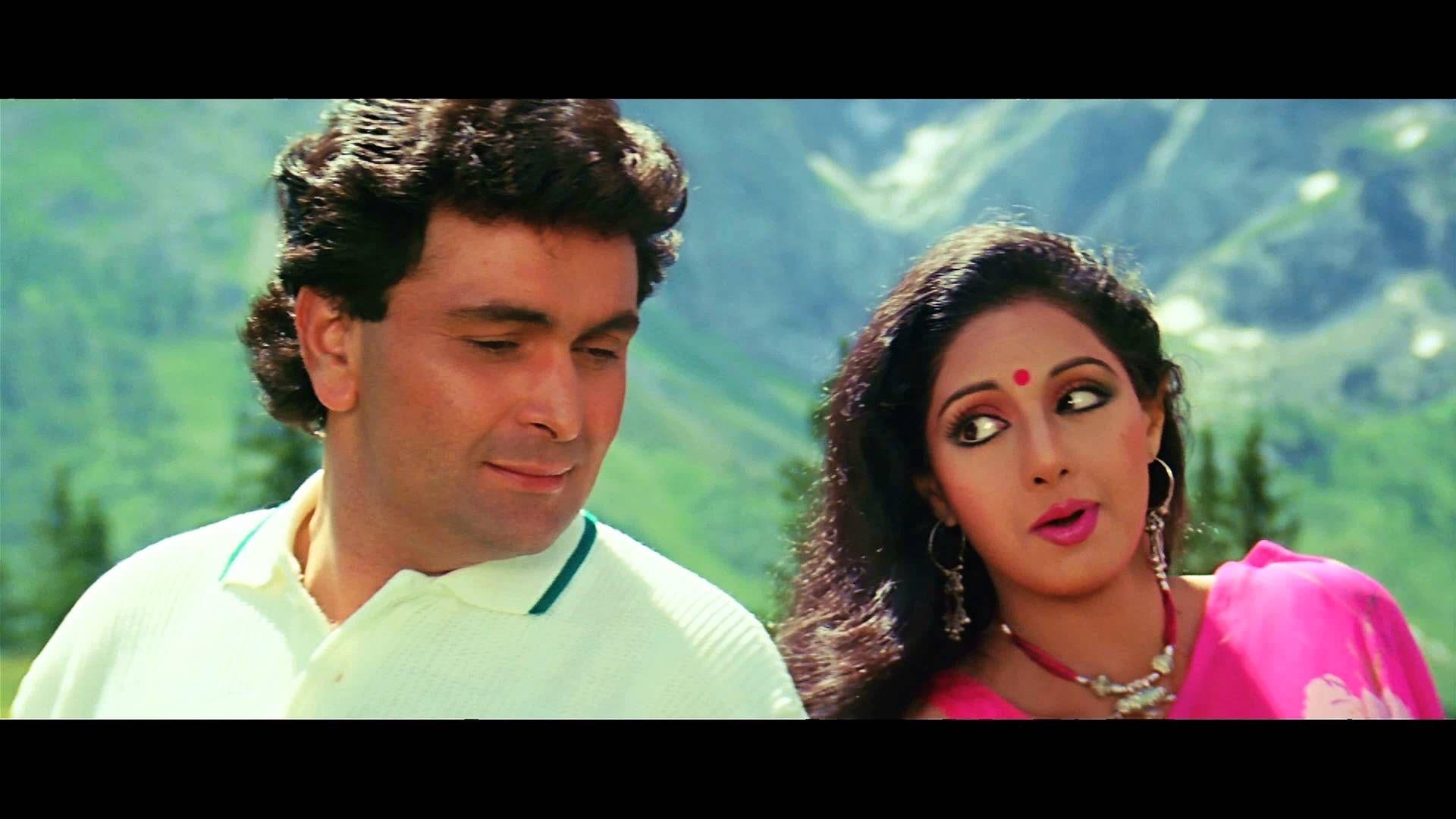 Tere Mere Hoton Pe  Chandni  1080P Hd