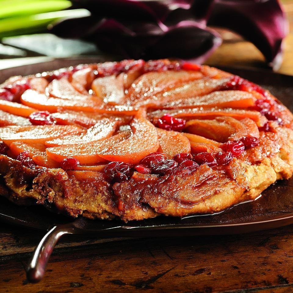 Pear, Apple & Cranberry Tarte Tatin | Receta
