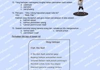 Download Soal Dan Kunci Jawaban Kelas 2 Semester 1 Tema 1 Subtema 1 Hidup Rukun Hidup Rukun Di Rumah Edisi Revisi Terbar Person Semester Personalized Items
