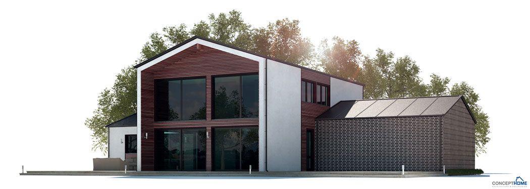 moderne houses_06_house_plan_ch282jpg plan maison Pinterest