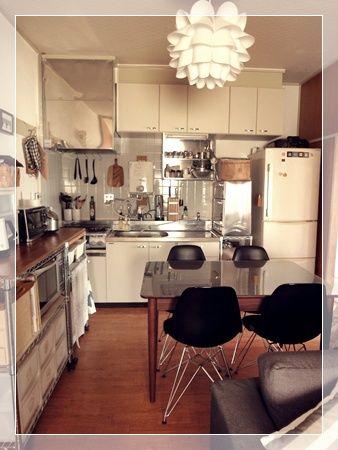 C A E G R O 狭いキッチン レイアウト リビングダイニング 賃貸 狭いリビング レイアウト