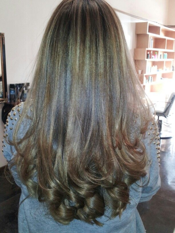 Highlights Haircut And Blowdry By Maritza Meaning Of Beauty Salon