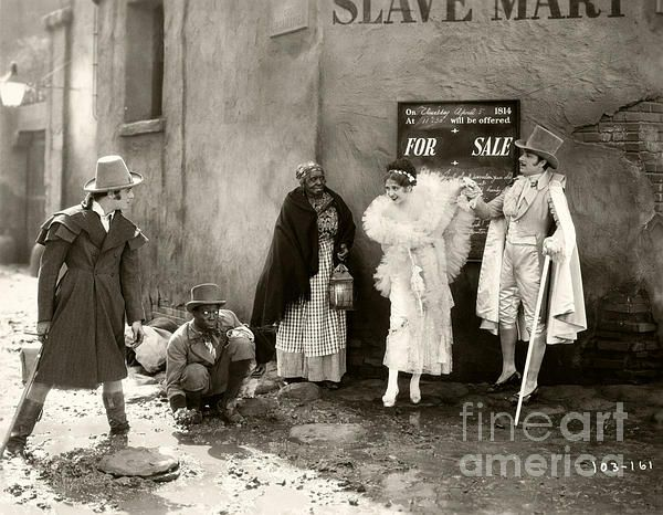 The Love Mart (1927) is a lost silent film.  Left to right is Gilbert Roland, Raymond Turner, unknown, Billie Dove, and Armand Kaliz. (Bizarre Los Angeles / Sad Hill Archive)