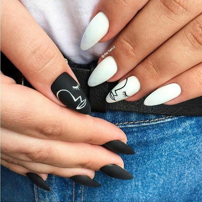 Summer 2020 Nail art designs that are subtle and chic #nails #summer #2020 #nailart #gel #designs #rainbow #pastel #pastels #French #simple #neutral