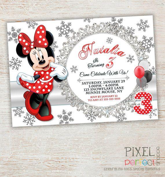 Minnie mouse invitation minnie mouse card birthday card party minnie mouse invitation minnie mouse card birthday card party invitation disney invitation stopboris Choice Image
