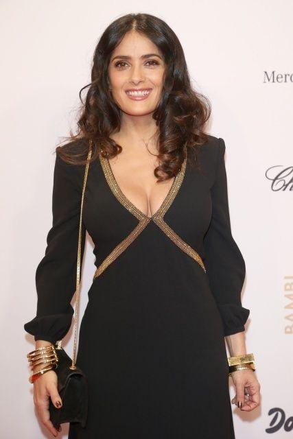 Criticism advise Salma hayek panties something is