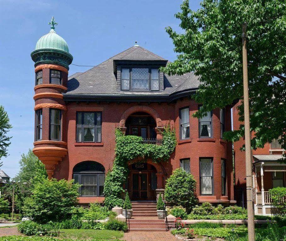 1892 Mansion In Saint Louis Missouri Mansions, Historic