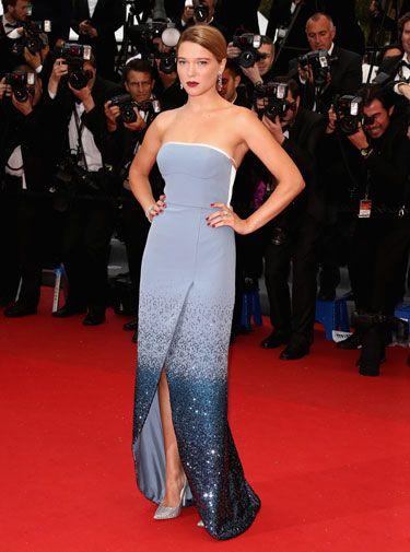 Grand Central Premiere - Lea Seydoux In Louis Vuitton